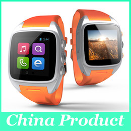 Wholesale Mini Gps Sport - Hot Smart Watch X01 Waterproof IP67 iPad Mini IPS Screen 3.0 Mega Pixel Camera 720P With Wifi Handsfree Sport Watch Function 010220