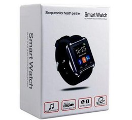 Wholesale Gps Fashion - smartwatch smart watch SmartWatch WristWatch For iPhone Samsung HTC LG Huawei Android Cell Phone Smartphones fashion
