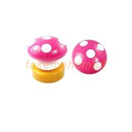 Wholesale Press Down Night Light - Wholesale-LED Mushroom Press Down Touch Lamp Night Light Pink C WORD