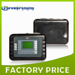 Wholesale Bmw Key Immobilizer - Multi Languages SBB Silca SBB Key Programmer V33.02   V33 Silca SBB Immobilizer For Multi-Cars No Token Needed Factory Directly