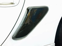 Wholesale Air Vent Grille - FOR CARBON FIBER 06-11 CAYMAN   BOXSTER 987 SIDE AIR INTAKES VENTS SCOOPS GRILLES