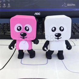 Wholesale Electronic Robot Toys For Wholesale - New Smart Remote Control Dance Robot Bluetooth Speaker Electronic Walking Toys Dancing With Music Wireless Speaker Toy to Child