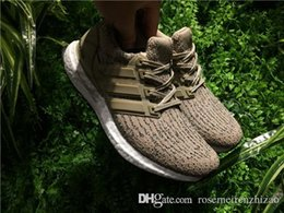 Wholesale Women Snow Boots Size 11 - 2017 Hot Sale Trace Khaki CG3039 Real Ultra Boost 3.0 Running Shoes,Men Women Boost 350 V2 Zebra UB Sports Sneakers Size 5-11