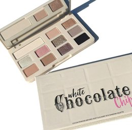 Wholesale Wholesale Faced Eye Shadow - NEWEST Too Face Chocolate Chip Eye Shadow 11 colors Makeup Professional eyeshadow Palette White and Matte Makeup eyeshadow DHL shipping
