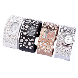 Wholesale Platinum Watch Ladies - Popular stars diamond Series for women's watches ladies quartz watches Women Bracelet Wrist Watch