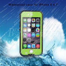 Wholesale Iphone Shockproof Dirtproof Waterproof Case - Redpepper For iPhone 6 4.7 Inch Waterproof Case 6.6ft Underwater Shockproof Snowproof Dirtproof Impact Resistant Cover Case DHL