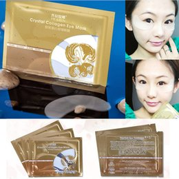 Wholesale Collagen Mask For Sale - Hot Sale Pilaten Eye Masks Crystal Collagen Eye Mask Anti-puffiness Dark circle Anti wrinkle moisture For Eyes Care DHL Free 0079MU-200
