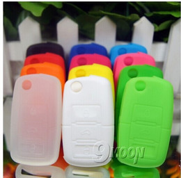 Wholesale Silicone Car Key Cover Vw - 600 pcs Volkswagen VW POLO Tiguan Passat B5 B6 B7 Golf MK6 EOS Scirocco Jetta MK5 MK6 High quality Silicone car key cover