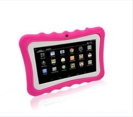Wholesale Free Pc For Children - 758 Children tablet PC 1G 4G Quad Core 7 inch android 5.1 tablet pc special for kid Hot sale and Free Shipping Ysinke