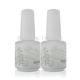 Wholesale Gel Nail Polish Ido - Wholesale-IDO 302 Colors Foundation Top & Base Coat 15ml Salon Manicure Soak Off Nail Gel Polish