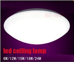 Wholesale Holidays Nature - NEWEST Led ceiling light 6w 12W 18w 24W WHITE corridor lights 85-260V INDOOR lamps 3 year Warranty led down lights with led drive