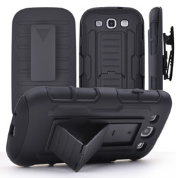 Wholesale Black Belt Swivel Clip - Hybrid Armor Hard Case for iPhone 6 6s plus Belt Clip Holster With Kickstand Swivel Holder Rugged Phone Cover for samsung galaxy S6 Note 5 4