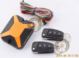 Wholesale Top Remote Locking - TOP remote central lock with good quality flip key alarm remote,car blade key is optional,working with closer window module M37645