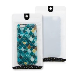 Cerradura de cremallera translúcida mate Bolsa de PVC OPP al por menor para iPhone XS Max XR X 8 Plus S10 S10E S9 Funda para teléfono personalizar LOGO desde fabricantes