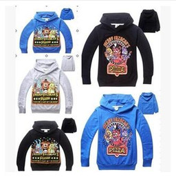 Wholesale Sweaters Wholesale Design - 5 Design Autumn hoodies Sweater Five Nights at Freddy's Children Hoodies bear five nights boy shoodies Sweatshirts Coats Kids Clothing