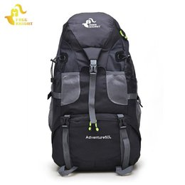 Свободные рыцарские рюкзаки онлайн-Sport Bag Hiking Backpacks Free Knight 50L Big Capacity Outdoor Sports Mountaineering Camping Travel For Women Men Bags