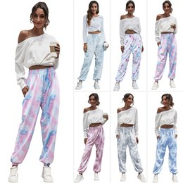 Camisola de perna on-line-2021 European and American Womens Pant Use Four Seasons Home Loose Lazer Esportes Básicos Camisola Calças Leggings Rua Jogging