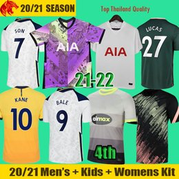 kit football éperons Promotion 20 21 Maillots de football Tottenham Hotspurs BALE NDOMBELE 2020 2021 DELE KANE Spurs SON CLARKE Maillot de football WINKS Maillot homme Kit enfants