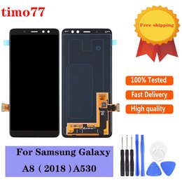 "lcd digitizer touchscreen tester Rabatt Original 5.6 ""Touch Panels für Samsung Galaxy A530 A530F A530DS A530N SM-A530N LCD Display Screen Digitizer Montage Test streng mit Werkzeugen"
