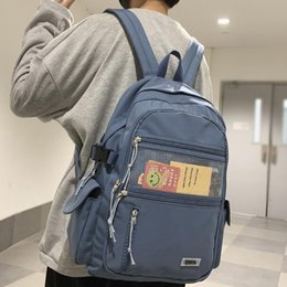 2021 eye net Zaino in nylon impermeabile in nylon Unisex Grande capacità multi-tascabile Eye-Plancle Schoolbag Zaini da uomo e donna Zaini per laptop