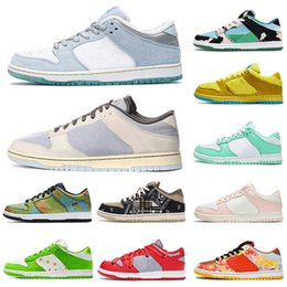 2021 skate blanc  baskets sb dunk low white off Designer authentique Skateboard Sneakers Safari Chunky Dunky Femmes Hommes Blanc des Chaussures Casual mode Formateurs