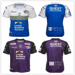 camisa de rinoceronte Desconto Presell 2021 New Leeds Rhinos Rugby Jersey Camiseta Harry Newman Rob Burrow Homens Kevin Sinfield Danny McGuire Kylie Leuluai Barrie McDermott