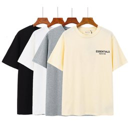 Califórnia camisetas on-line-Essentials Califórnia Nova névoa limitada Double Line Casual Masculina e Manga Curta T-shirt