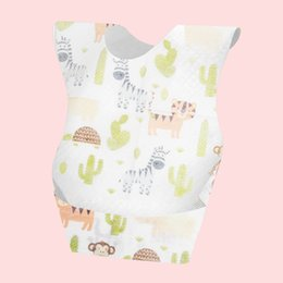 babero bebé eructos Rebajas BIBS DESECHABLE BIBS Dibujos animados Imprimir Burp Paños Baby Girls Baby Natchin Health and Safety Protable Bibs0 691 x2