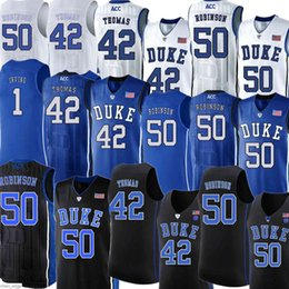 Jerseys duque on-line-Men1 Kyrie Duke Jerseys Blue Devils Irving Ncaa Jersey Christian 32 Laettner 4 JJ Redick University College Bordado Basquete Via Mens