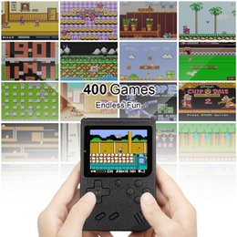 2021 lettore portatile mini video Console di videogiochi Mini Retro Built-in 400 in 1 Giochi portatili Giochi giocatori per Box Boy Toys Tasca retròid Portable