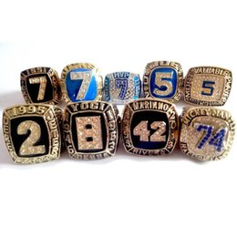 Diamants ny en Ligne-NY Yankees Hall of Fame World Series Championnat Anneau Alliage Diamant Taille 11, 9 Ensemble