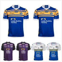 camisa de rinoceronte Desconto Presell 2021 Leeds Rhinos Rugby Jersey Camisas Harry Newman Rob Burrow Homens Kevin Sinfield Danny McGuire Kylie Leuluai Barrie McDermott
