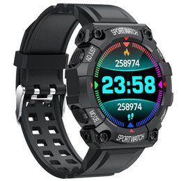 2021 orologio intelligente curvo Smart Watch Est Sport all'aperto FD68 Smartwatch SmartWatch Frequenza cardiaca Deep Impermeabile Display curvo # BL1 Orologi