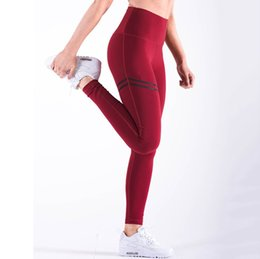 Femmine strette calde online-Hot novità !! donne sexy sport pantaloni da corsa pantaloni yoga leggings per fitness femminile jogging pant push up fianchi gym allenamento legging collant