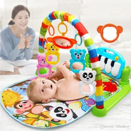 2021 estera de piano para bebé Baby Play Mat Kids Rug Puzzle educativo Alfombra con teclado de piano y lindo animal Playmat Baby Gym Crawling Activity Mat Toys 4.8 1158 Re