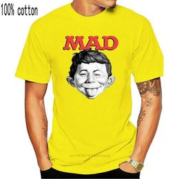 2021 rivista tee  MAD MAGAZINE ALFRED E Newman T-Shirt Retro 1970 Graphic WBT349 Nuovo Unisex Divertente Tops Tee Shirt