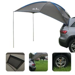 Tende auto online-Auto Car Trunk Tenda Sunshade Piove Anti-UV Durevole Durevole Anti-UV per il rimorchio MPV SUV