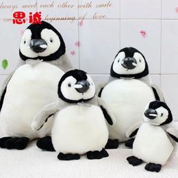 Wholesale Happy Feet Plush - Wholesale-Free Shipping 18cm Happy Feet Vocalization penguins Stuffed animals dolls,Leather mouth penguin plush toys for Christmas gift