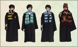 Wholesale Black Star Cosplay - 2015 new Fasion Cosplay Custume Harry Potter Custume Academism Scarfs Ties Plus Size Harry Potter magic clock Theme Custome A082535