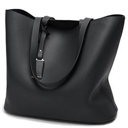 Wholesale Womens Large Leather Handbags - Womens Designer bucket Purses and Handbags Ladies Tote Bags fashion style