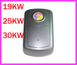 Wholesale US EU UK plug New Style EU Plug KW KW KW Electricity Energy Power Saver Box Saving Save up to Black