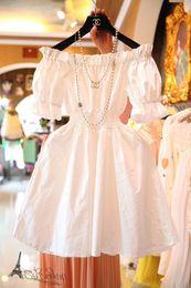 Wholesale Hubble Bubble Dress - Wholesale-2015 summer sexy ladies wear short-sleeved dress strapless hubble-bubble sleeve pleated dress women party dress