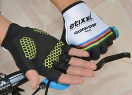Wholesale Cycling Gloves Tour - Tour of France Teams Editio Bicycle Cycling Gloves Guantes Ciclismo MTB Gloves Half Finger Racing Road Bike Gloves