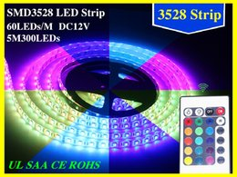 Wholesale Holiday Decorations Sale - 100M 20 rolls Led Strip Light 3528 SMD 300Led Waterproof IP65 100 meter led ribbon on sales Christmas Gifts DHL FedEx Free Shipping