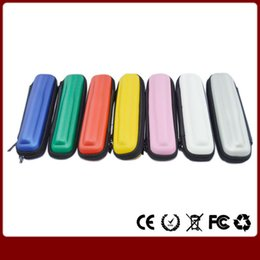 Wholesale Ego W Starter - Colorful eGo Case Small Ecig kits 8 Colors Leather Case for ego t ego w ego c Electronic Cigarette Starter Kits E Cig Carrying Case