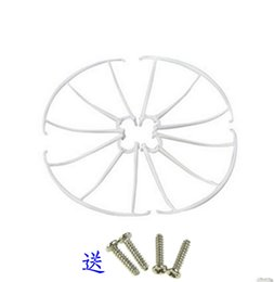 Wholesale Rc Quadcopter Frame - 4 pcs SYMA X5C-03 X5C X5C-1 X5 X5SC X5SW Spare Guard Circle Protecting Frame Ring Part For RC Quadcopter Drone Accessories Spare Parts 05