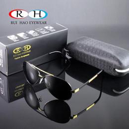 Wholesale Hd Girls - Fashion HD Polarized Sunglasses Men Women Sun Glasses Alloyed FrameEyewear Eyeglasses Designer AntiReflective UV400 Driving