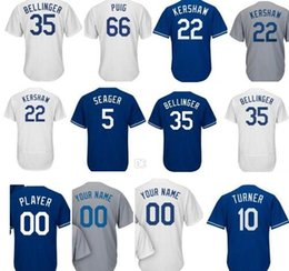 Wholesale Womens Army Shorts - Mens Womens youth Corey Seager 10 Justin Turne 22 Clayton Kershaw Adrian Gonzalez ALENZUELA 35 Cody Bellinger 42 Robinson jerseys