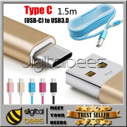 Wholesale Cables Tablet - Type C (USB-C) to USB 3.0 Data Sync Cable for Mircro USB Type-C Devices new MacBook Pixel Tablet One Plus 2