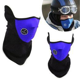 Wholesale Red Snowboard Beanies - 3 Colors Outdoor Sports Dustproof Motorcycle Ski Bike Snowboard Half Face Mask